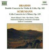 Brahms: Double Concerto;  Schumann: Cello Concerto / Kliegel