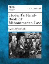 Student's Hand-Book of Mahommedan Law