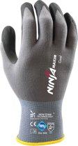 NINJA MAXIM COOL - Allround Montage Werkhandschoen - Luchtdoorlatend - MAAT 9 / L. (Alternatief voor ATG Maxiflex) **** VOORDEELPAKKET 24 PAAR ****