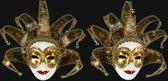 Venetiaans masker Tarot dame