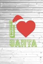 I Heart Love Santa - Christmas Journal