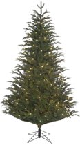Black box kunstkerstboom led frasier fir maat in cm: 185 x 124 groen 288 led