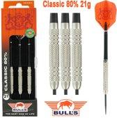 BULL'S Classic 80% dartpijlen - 21 gram