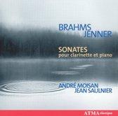 Brahms: Clarinet Sonatas /Jenner Clarinet Sonata