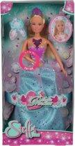 Simba 5738047 3 Steffi Magic Princess met lichtgevende kroon