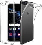 Huawei P10 Plus Transparant Silicone hoesje case clear