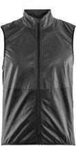 Craft Glow Vest Fietsjack - Heren - Maat XL - Black/Zwart
