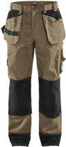 Blaklader Werkbroeken met kniestukken Khaki/ZwartNL:62 BE:56