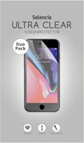 Selencia Duo Pack Ultra Clear Screenprotector voor de Samsung Galaxy J4 Plus / J6 Plus