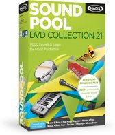 Magix Soundpool DVD Collection 21 - Nederlands / 1 Gebruiker / Box