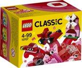 LEGO Classic Rode Creatieve Doos - 10707