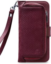 Mobilize 2in1 Gelly Wallet Zipper Case Samsung Galaxy A50 Bordeaux