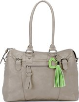 Little Company - Black Label Soft Leather Look Bag Luiertas - Taupe