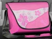 "13"" Hawaii Flower Flap Pink"