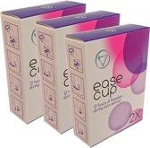 EaseCup menstruatiediscs - 3x 2 stuks