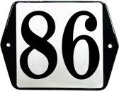 Emaille huisummer model oor - 86
