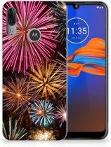 Silicone Back Cover Motorola Moto E6 Plus Vuurwerk