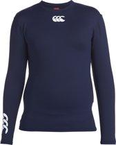 Canterbury Cold Longsleeve Top Kids - Thermoshirt - Kinderen - Marineblauw - Maat 164