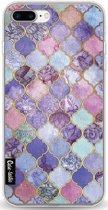 Casetastic Softcover Apple iPhone 7 Plus / 8 Plus - Purple Moroccan Tiles