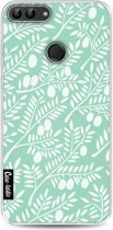 Casetastic Softcover Huawei P Smart - Mint Olive Branches
