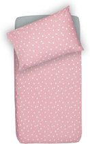 Little Lemonade Dots Overtrek en sloop pink 100x140cm