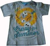 Grijs t-shirt van Disney Frozen, Olaf maat 128