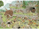Jumbo Pieces of History Stone Age - Puzzel 500 stukjes