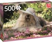 Sophie in een Bloemenbed - Puzzel 500 stukjes