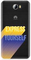 Huawei Y5II / Y6II Compact Hoesje Express Yourself