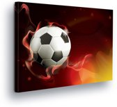 Football Canvas Print 80cm x 60cm