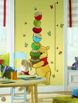 Muurstickers Winnie The Pooh Zwart Wit.Bol Com Roommates Disney Winnie The Pooh Groeimeter Muurstickers