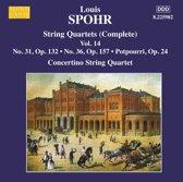 Spohr: String Quartets Vol.14