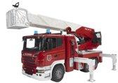 Bruder Scania R-Serie Brandweerwagen met Waterpomp - Speelgoedauto
