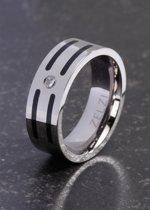ZELZI Titanium ring: Kratos 22 millimeter