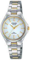 Pulsar PY5035X1 horloge dames - zilver en goud - edelstaal
