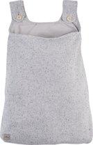 Jollein Confetti knit Boxopbergzak grijs