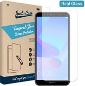 Just in Case Tempered Glass Huawei Y6 (2018) Protector - Arc Edges