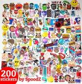 200 laptopstickers | Sticker Mix Auto Stickerbomb Macbook Laptop ST13