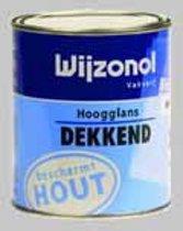 Wijzonol DEKKEND Satijngrijs (9214) Hoogglans - 3 x 0,75 Liter