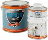 Professioneel Magneetwand pakket inclusief Witte Whiteboardverf geheel compleet voor 10 m². Met GRATIS Whiteboard marker, wisser en sterke neodymium magneten