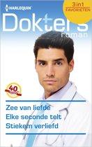 Zee van liefde / Elke seconde telt / Stiekem verliefd - Doktersroman Favorieten 464, 3-in-1