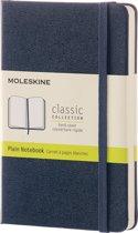 Moleskine Classic Notebook - Pocket - Plain - Hard Cover - Sapphire Blue