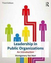 Leadership in Public Organizations