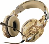 Trust GXT 322 Carus - Dynamische Gaming Headset - Desert Camouflage