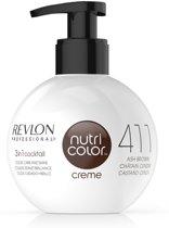 Revlon Nutri Color Creme fles 411 ash brown 270ml
