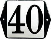 Emaille huisummer model oor - 40