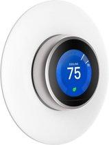 Muurplaat Cover Houder Voor Google Nest Learning Thermostat 1/2/3 Generatie - Slimme Thermostaat Wandhouder - Wit