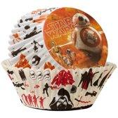 Star Wars cupcake vormpjes 50 stuks