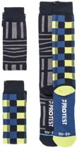 Protest Skisokken 2 pack Heren GRAPHIC Ground Blue43-46