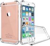 Saizi Transparant tpu siliconen case backcover hoesje voor iPhone 8 Plus /  iPhone 7 Plus (verstevigde randen)